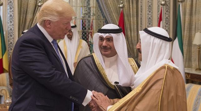 ABD Başkanı Trump, Kuveyt Emiri Şeyh Sabah ile görüştü