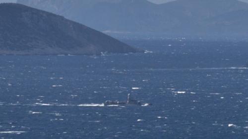 Kardak açıklarında Türk ve Yunan botları arasında gerginlik