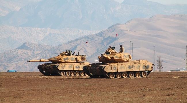 Afrinde sınır birlikleri en üst hazırlık seviyesine getirildi