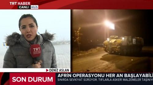 TRT Haber sınır hattında