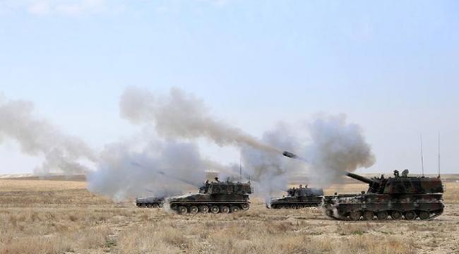 TSK, terör örgütü PYD hedeflerini vurdu