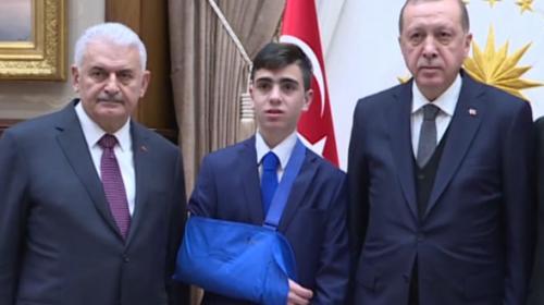 Cumhurbaşkanı, Filistinli Fevzi el-Cuneydiyi kabul etti