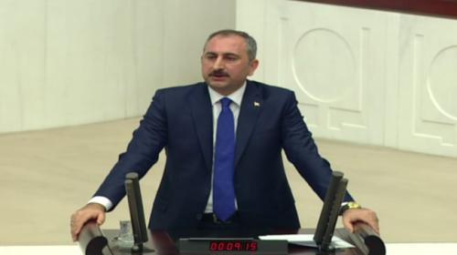 Adalet Bakanı Abdulhamit Gül: Türkiyenin sınır ötesi terör tehditlerine karşı meşru müdafaa haklı vardır