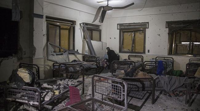 PYD/YPG, Afrinden Azezdeki hastanelere top ateşi açtı: 12 yaralı