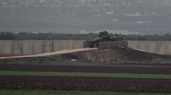 Afrin sınırında Kayı güvenlik sistemi devreye girdi