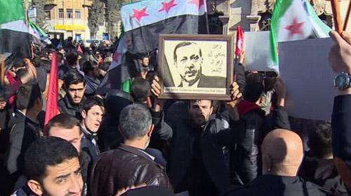Azezde cuma namazı sonrası toplanan 500 kişi, PKKyı protesto etti