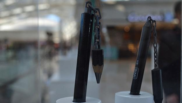Kalemin Ucundaki Sanat sergisi açıldı