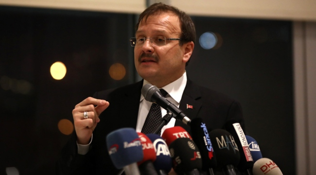 Başbakan Yardımcısı Çavuşoğlu: Güneyde oldu bitti ile terör koridoruna göz yummayız