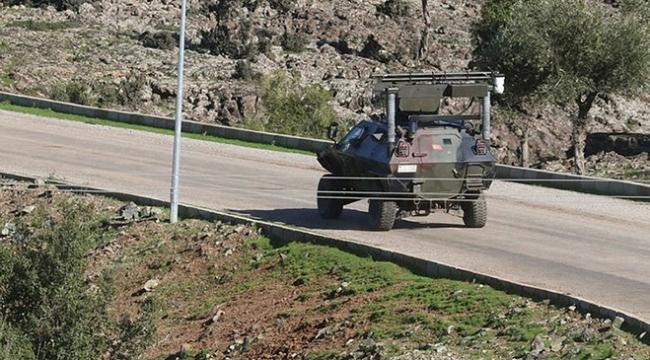 Afrin sınırında Fetih Marşı yankılandı