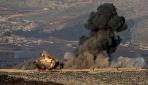 Türk savaş uçakları Afrin'de PYD/YPG'ye ait noktaları vurdu