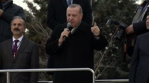 Cumhurbaşkanı Erdoğan: Terör koridorunu yerle yeksan edeceğiz