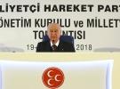 MHP Genel Başkanı Devlet Bahçeli: Hükümet yalnız değildir MHP yanındadır