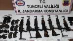 Tuncelinde PKKnın ecza ve malzeme depoları ele geçirildi