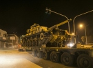 Öncüpınar Sınır Kapısı'ndan Suriye'ye askeri araç sevkiyatı yapıldı