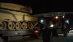 Öncüpınar Sınır Kapısından Suriyeye askeri araç sevkiyatı yapıldı