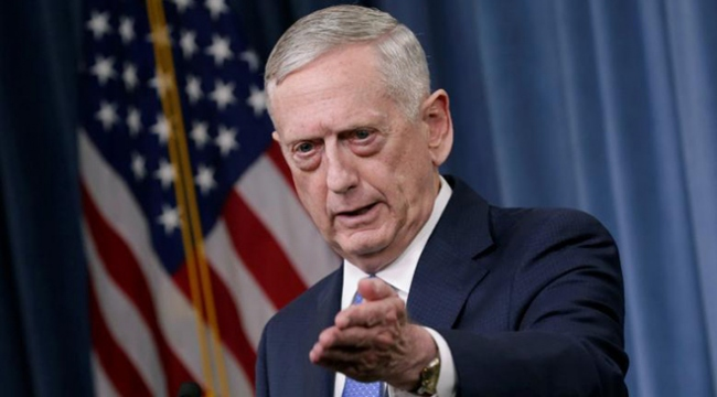 ABD Savunma Bakanı Jim Mattis: Türkiye hava saldırısı yapmadan önce bizi uyardı