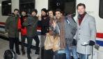 Doğu Ekspresi çılgınlığı: Tam 500 kişi tek seferde Karsa geldi