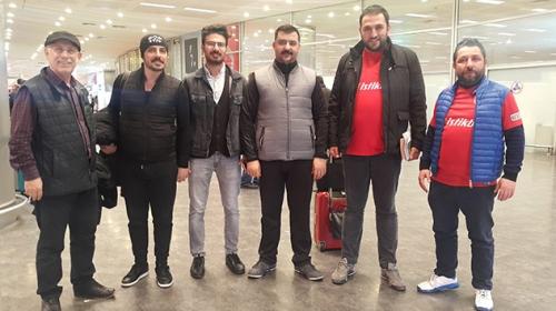 Kudüste İsrail polisi tarafından gözaltına alınan Türk iş adamları yurda döndü