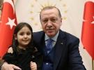 Cumhurbaşkanı Erdoğan'ı göremediği için ağlayan minik Irmak Külliye'de