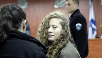 İsrailden Filistinli cesur kız Temimiye destek veren şairin eserlerine yasak