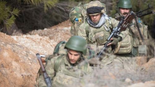 Sınırdaki Türk askerinin günlük yaşamı böyle görüntülendi