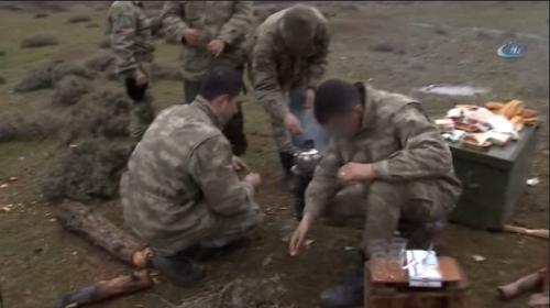 Sınırdaki Türk askerinin günlük yaşamı