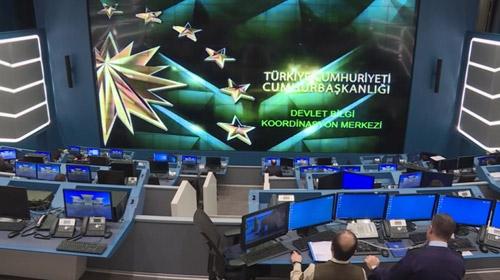 Devlet Bilgi Koordinasyon Merkezi kapılarını ilk kez açtı