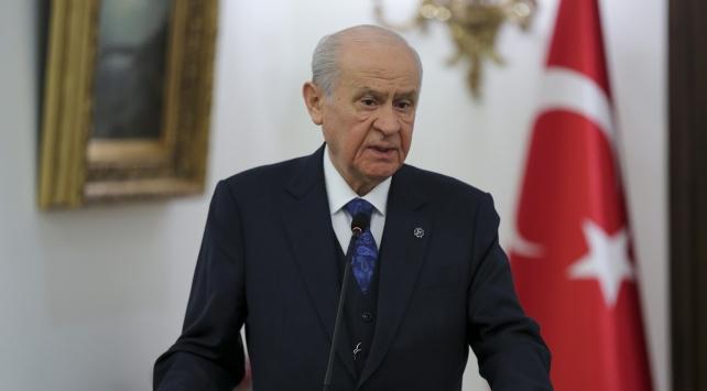 MHP Genel Başkanı Devlet Bahçeli: Adayımız Sayın Recep Tayyip Erdoğandır