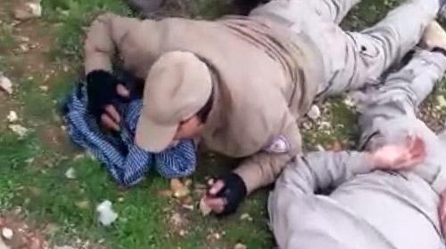 Afrinde PKKlı 7 terörist sağ ele geçirildi