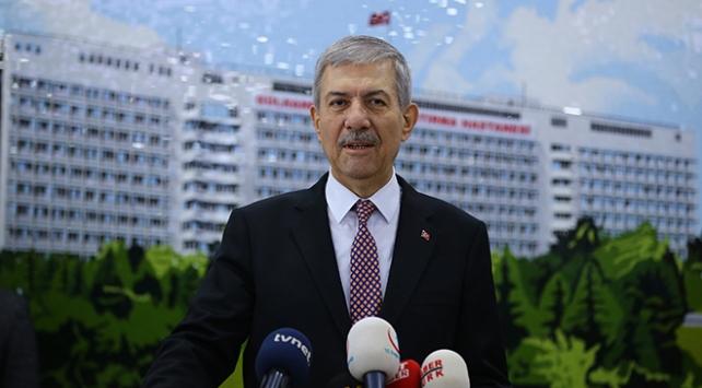 Sağlık Bakanı Ahmet Demircan gazileri ziyaret etti