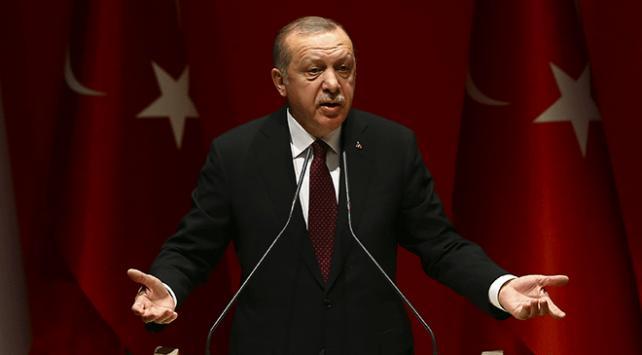 Cumhurbaşkanı Recep Tayyip Erdoğan: Amerikan bayraklarıyla terör örgütleri, bölgede cirit atıyorlar