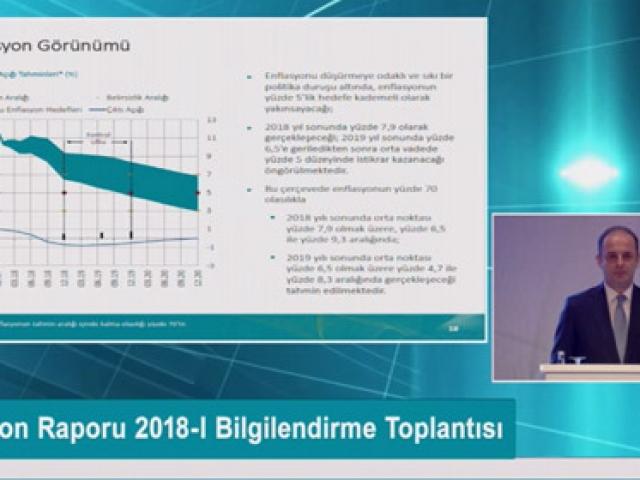 Merkez Bankası enflasyon tahminini açıkladı