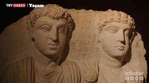 DEAŞın yok ettiği Suriyedeki Palmiradan gelen tarihi eserler İstanbulda sergileniyor