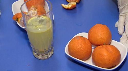 Türkiyede ilk kez mandalina kabuklarından efervesan tablet üretildi
