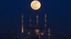 Süper Kanlı Mavi Ay Tutulması görsel şölen oluşturdu