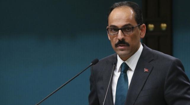 Cumhurbaşkanlığı Sözcüsü Kalın: ABDnin Suriye politikası soru işaretleri yaratıyor