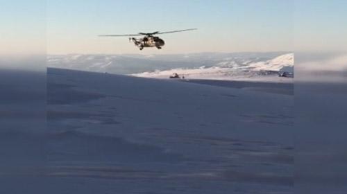 Mehmetçik kar kış demeden operasyonlarını sürdürüyor