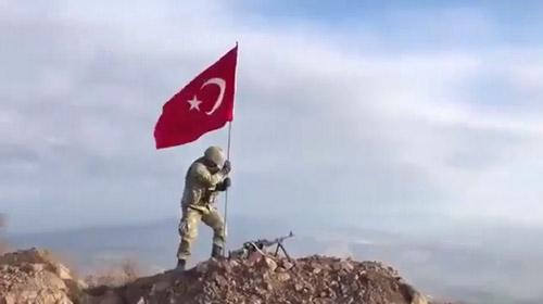 Darmık Dağı teröristlerden tamamen temizlendi