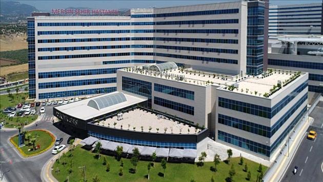 Mersin Şehir Hastanesi 2 milyonu aşkın kişiye hizmet verdi