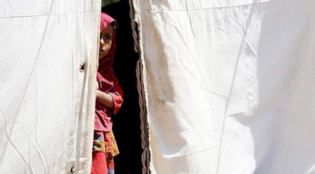 Yemendeki savaş binlerce insanı evsiz bıraktı