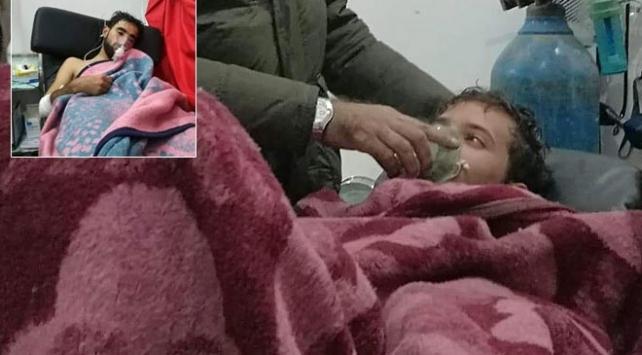 Esed rejimi İdlibde sivillere klor gazıyla saldırdı