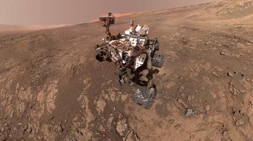 NASA, Marsın panoramik görüntüsünü yayınladı