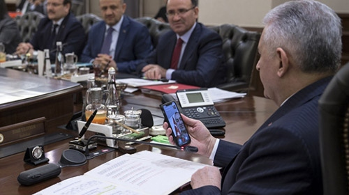PTT Messenger'ı ilk Başbakan Yıldırım test etti