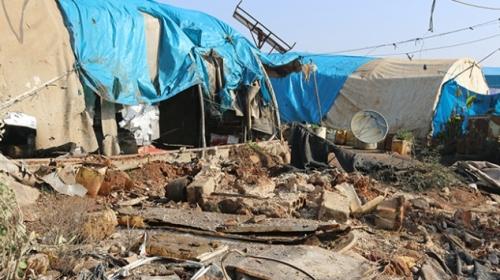 PYD/PKK Afrin'den İdlib'deki sığınmacılara saldırdı