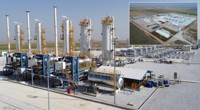 Konutların doğalgazının yarısı Tuz Gölünde depolanacak