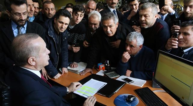 Cumhurbaşkanı Erdoğan: Afrin dediğimiz zaman bu millet hazır