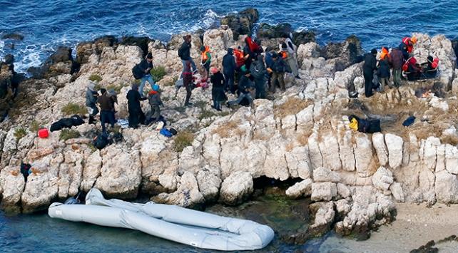 Ege Denizinde yasa dışı göç operasyonu