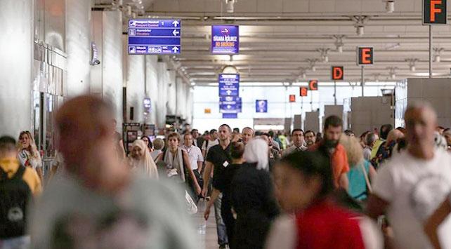 İstanbul havalimanları, 1 ayda 8 milyon yolcuyu ağırladı