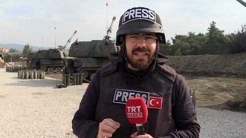 TRT Haber 'ateş hattı'nda