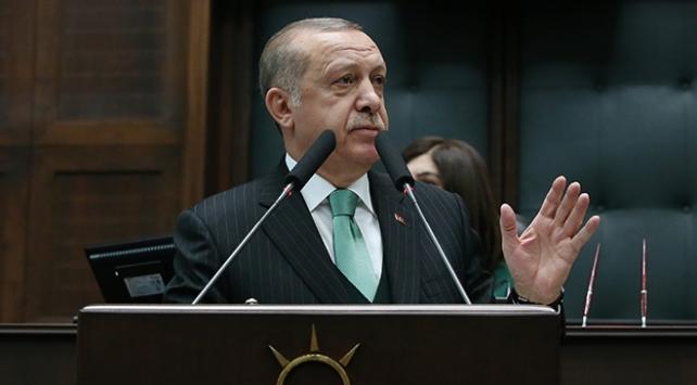 Cumhurbaşkanı Erdoğan: Takke d�şm�ş, kel g�r�nd�, a�ık�a konuşmanın zamanı geldi